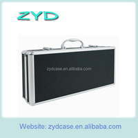 Professional Waterproof Fireproof Aluminum Coin Storage Case ZYD-HZMCC001