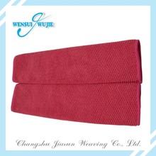 Microfiber hair towel for home and hair salon use