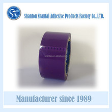 BOPP decorate packing tape purple color