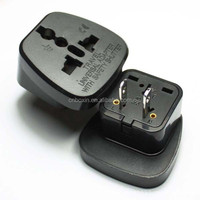 Best selling products 2014 universal uk to us plug travel adapter with safety shutter CE Rohs
