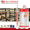 Chemical anchor fixing building materials for fabricated steel
