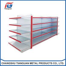 Top steel plain Gondola shelves for cheap