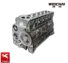 Weichai truck diesel Engine parts of Cylinder block, 61260090039
