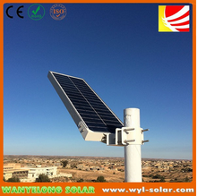 High quality & Best Value 30W 16V Polly Crystalline solar street lighting with motion sensor .