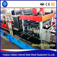 Full Automatic C Z Purlin Roll Forming Machine with PLC Control,C/Z Purlins making Machine
