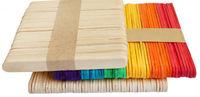 Wooden Birch crafts sticks