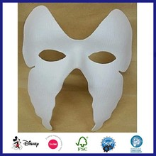 DIY Recycled Cheap Bulk Party Supplies Paper Face Mask