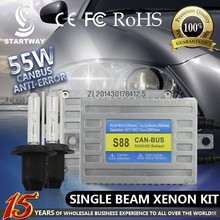 No Error Canbus HID Xenon Kit 55W AC For BMW ,Benz ,Audi Etc With H1,H3,H4,H7,H8,H9,H10,H11,H13,HB3/9005,HB4/9006,9004,9007 bulb