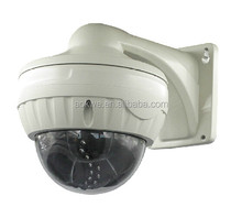 Aokwe indoor outdoor use metal casing vandalproof dome cctv camera 1.3mp hd night vision easy to install p2p network ip camera