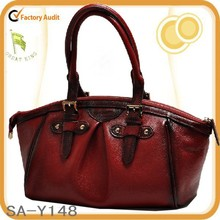 dumplings bag sheepskin real leather handbag purse for women
