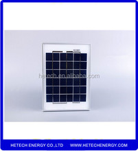 Mini 5W Poly price per watt solar panels