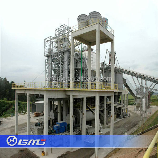 Portland Cement Ball Mill : Tpd cement clinker grinding plant with close circuit