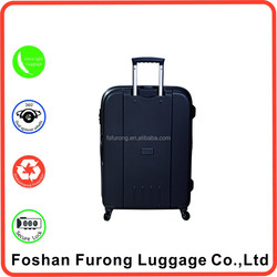 Festival gift items unbroken PP suitcase luggage case with 210D luggage lining