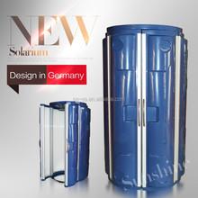 Stand Up Solarium Tanning Bed 8.3kW With 44pcs of UV Lamps solarium