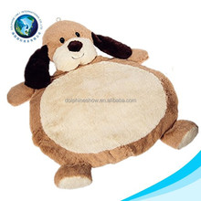 2015 Kids baby toy wholesale cheap stuffed soft plush dog toy play mat baby