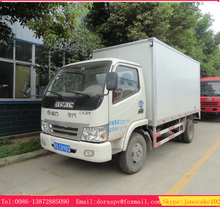 Dongfeng 4x2 mini box van refrigerated cold room for the truck
