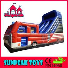 SL-201 Inflatable Fire Truck Slide