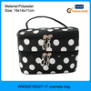 Large cosmetic travel bag with compartments