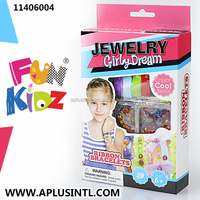 Kids craft DIY Girly Dream Ribbon Bracelets Kits