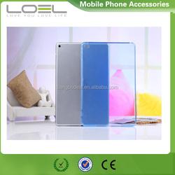 New clear tpu back cover for ipad mini 4, for ipad mini 4 soft tpu case