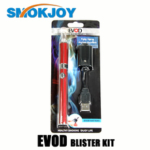 wholesale smokjoy Evod starter kit e cigs with mixed colors stock offering DHL shipping