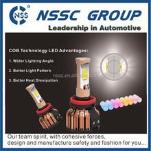 cheap pirce high power cob auto led car headlight 24w 2400lm daylight 6000K waterproof IP-68 bulb