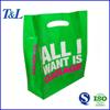 Designed logo soft loop handle printed cheap custom made shopping plastic bags