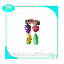 personalizar un diseño precioso de frutas de plástico de juguete