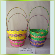 Professional Supplying Shopping Bamboo Baskets as Household Gifts