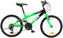 Sport full suspension mountain bicycle from china