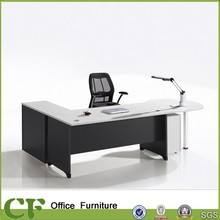 Cheap furniture office table design with side return