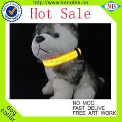 Nylon cat training led dog collar