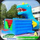 Trampolim inflável salto, cama de salto inflável, cama elástica adulto, cama elástica inflável dinossauro