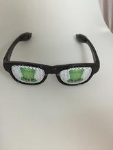 promotional gift light up rayban sunglasses Pinhole sunglasses with logo design