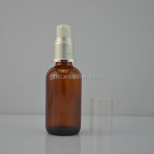 Alibaba new hot sale Factory 60ml amber glass nasal medical spray bottle
