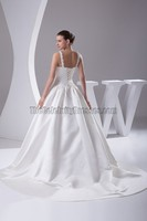 Celebrity Inspired Pictures Of Beautiful Wedding Gown With Court Train