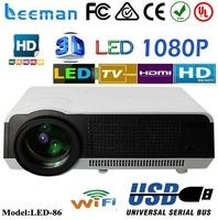 lcd digital projector projector cre x1000 full hd 1080p 3d led projector