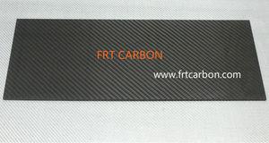 En fibre de carbone plaque de tôle du panneau 2.5mm conseils, 2mm, 3mm, 1mm, 4mm10mm