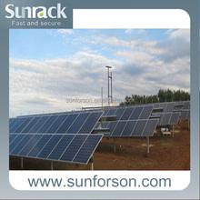 normal solar energy solar bracket with 10 years warranty
