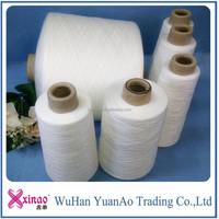 Alibaba China 100% spun polyester yarn competitive price