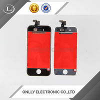High Quality Cell Phone Color Display With Touch Screen for iphone 4s LCD With digitizer