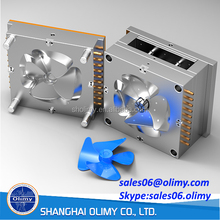 Supply top performance plastic injection mould small fan plastic injection mould