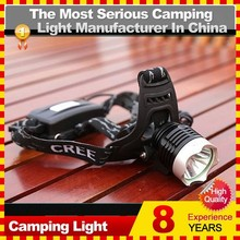 Best 18650 3 Mode LED Headlamp for Hiking, Running, Camping