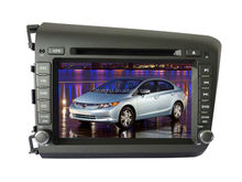 """8""""Touch Screen For HONDA CIVIC 2012 Car DVD GPS For HONDA CIVIC 2012 Radio Stereo GPS CANBUS Bluetooth SWC"""