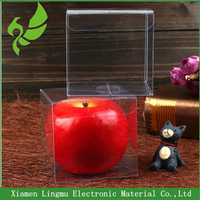 2016 Newest small clear plastic gift packaging box with good price