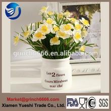 de estilo europeo decoración florero de cerámica