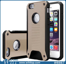 Shock Resistant Rugged Armor Mobile Phone Case for iPhone 6