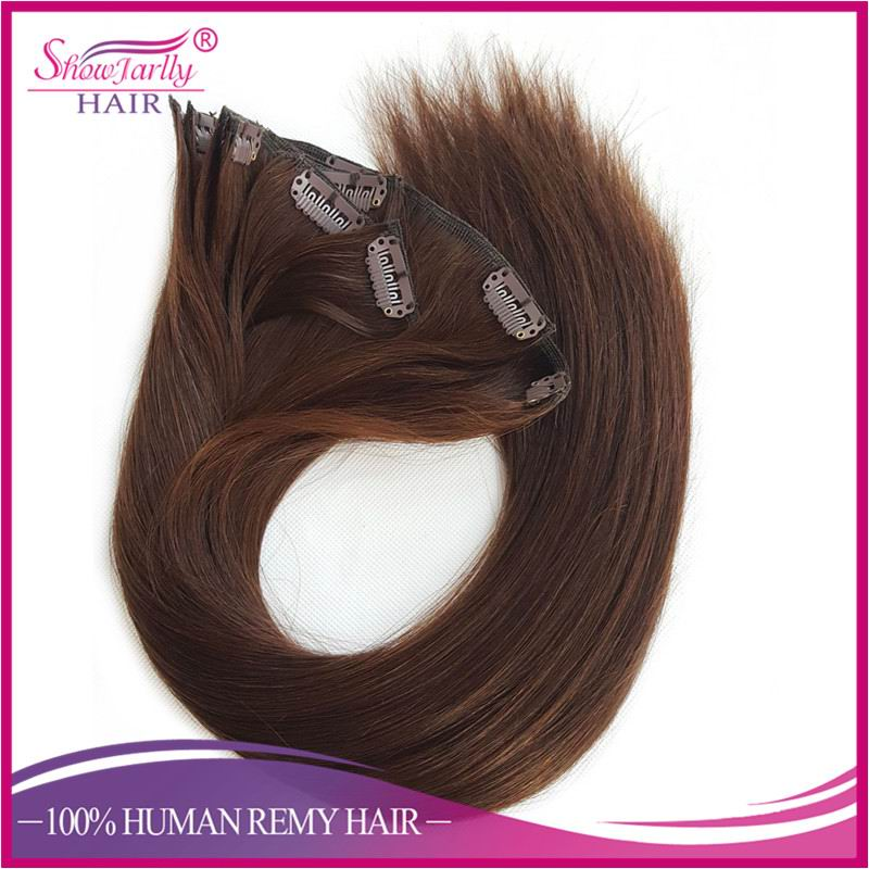 Hottest Products On The Market Cheap Colored Clip In Human Hair