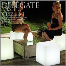 Best quality antique changing led cube chair