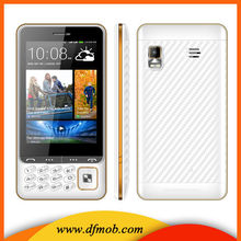 "GSM 3.5"" Touch Screen Mobile Phone Bluetooth Quad-band Keyboard Dual Sim Card Camera Spreadtrum FM Cellphone Q200"